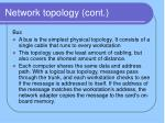 network topology cont1