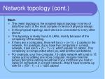 network topology cont10