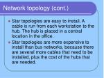 network topology cont5