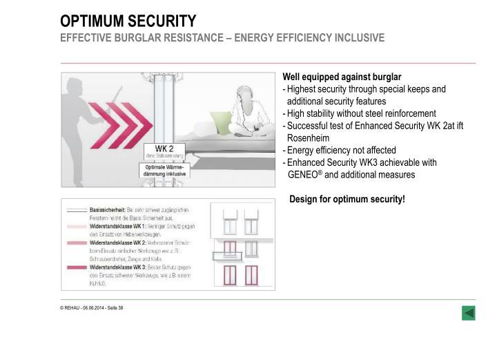 OPTIMUM SECURITY