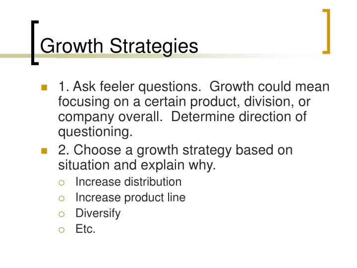 Growth Strategies