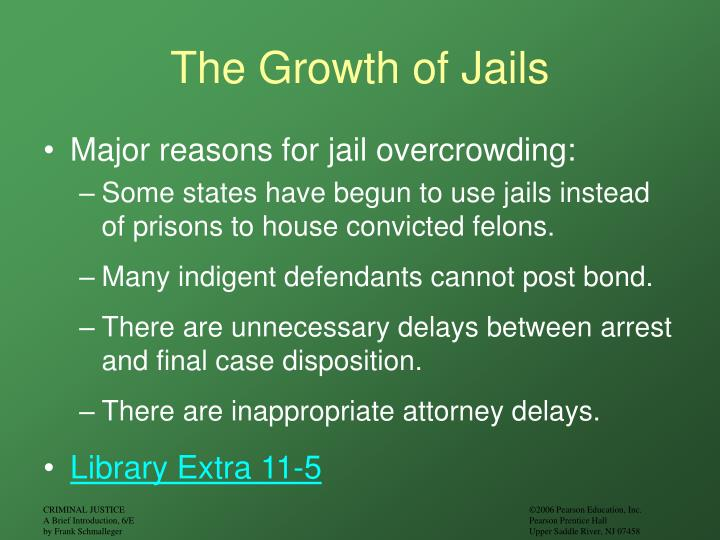 The Growth of Jails