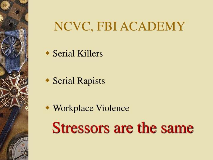 NCVC, FBI ACADEMY