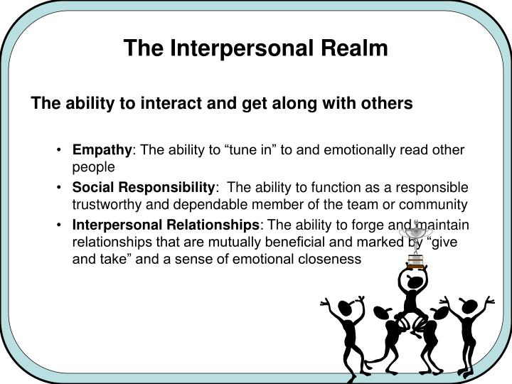 The Interpersonal Realm