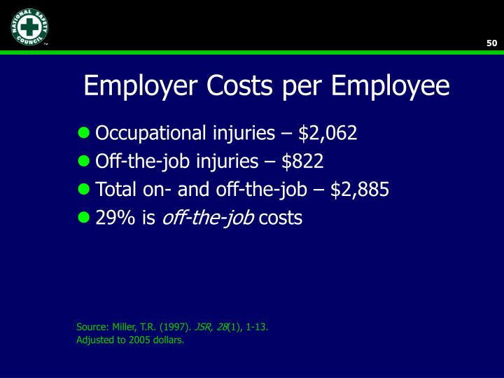 Employer Costs per Employee