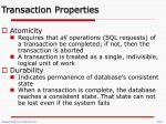 transaction properties