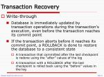 transaction recovery2