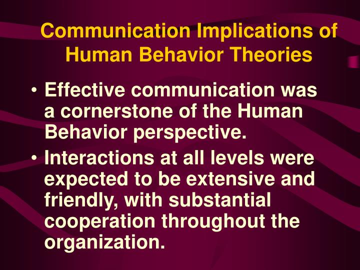 organizational behaviour effective communication How to communicate clearly during organizational change  why, then, is it so  hard for leaders to send clear, effective signals to  living the change you want  to see means much more than modeling any behaviors you've.