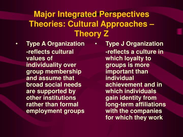 Type A Organization