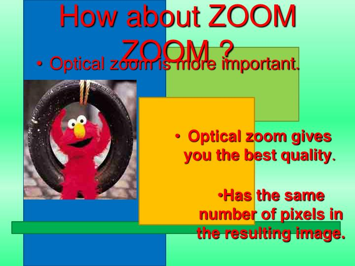 How about ZOOM  ZOOM ?