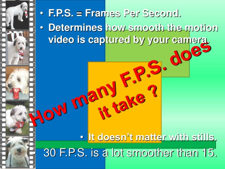 How many F.P.S. does