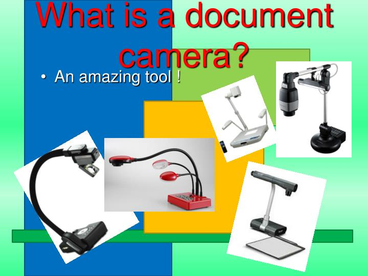 What is a document camera?
