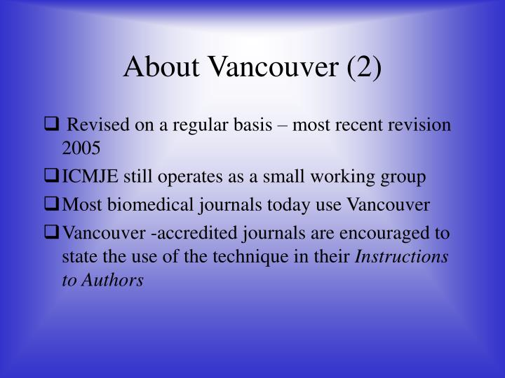 About Vancouver (2)