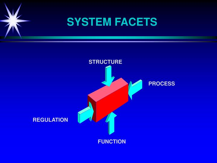 SYSTEM FACETS