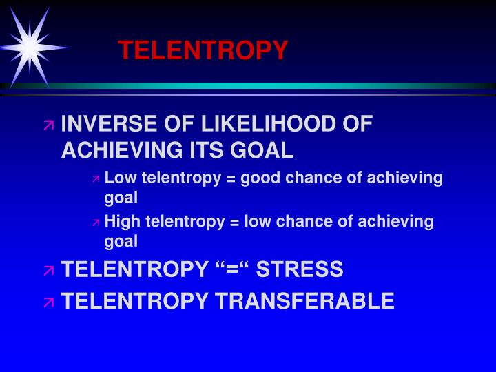 TELENTROPY