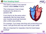 your beating heart