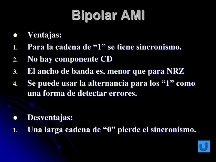 Bipolar AMI