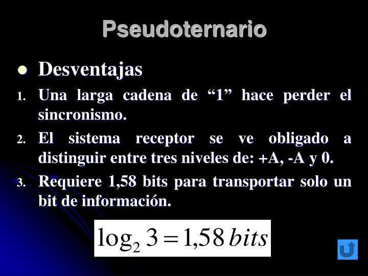 Pseudoternario