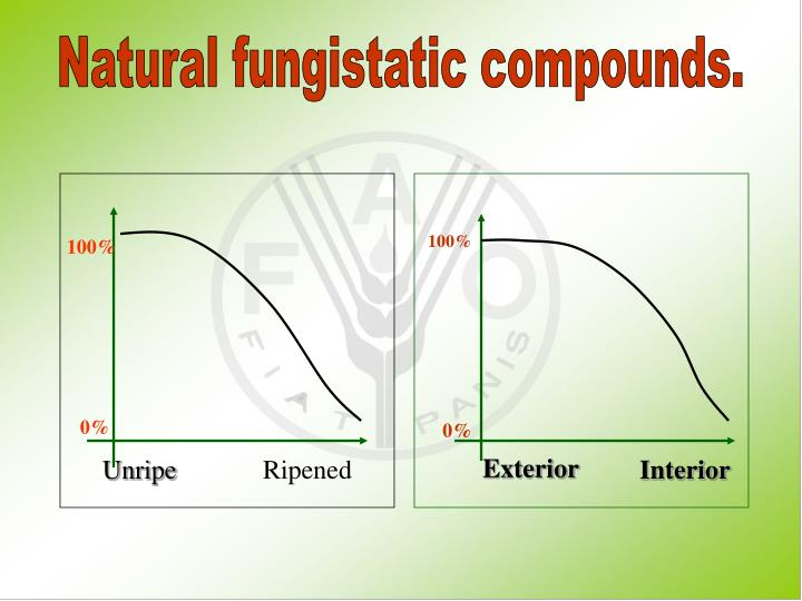 Natural fungistatic compounds.