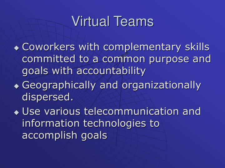 Virtual Teams