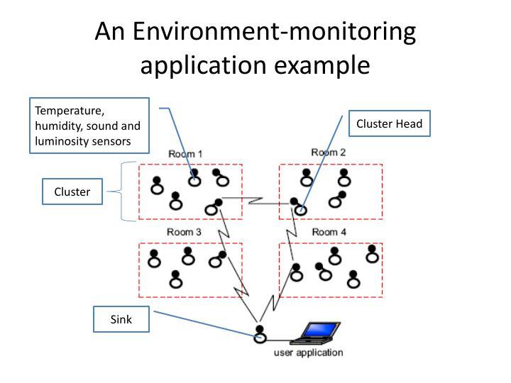 An Environment-monitoring application example