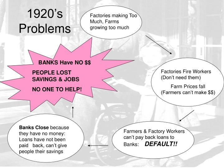 1920's Problems