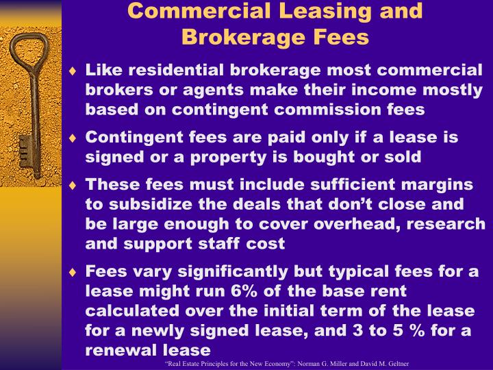 Commercial Leasing and