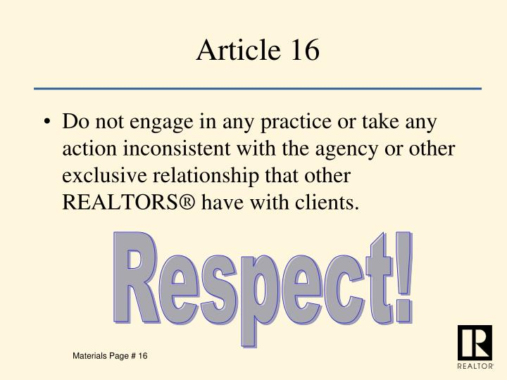Article 16