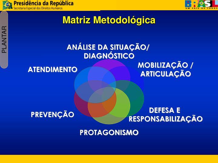 Matriz Metodológica