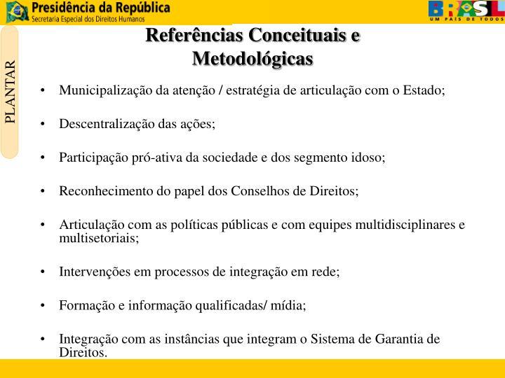 Referências Conceituais e