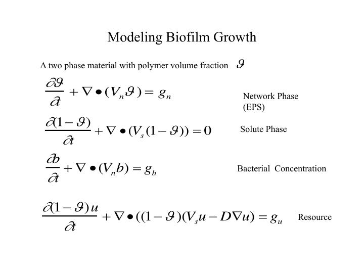 A two phase material with polymer volume fraction