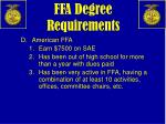 ffa degree requirements2