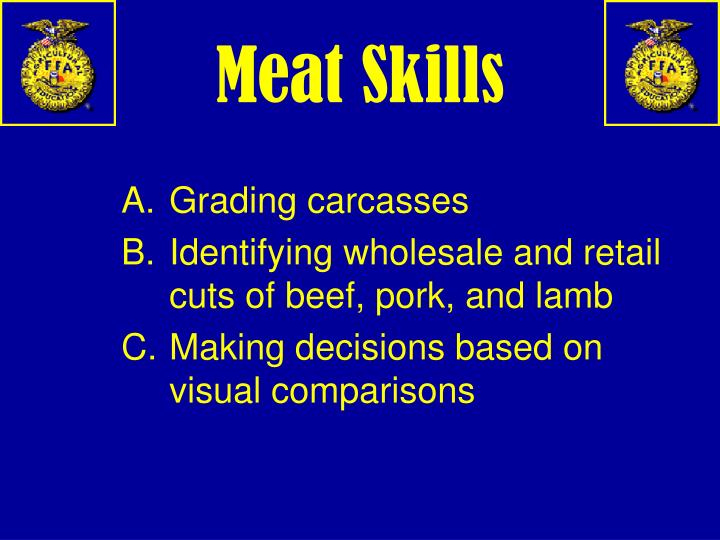 Meat Skills