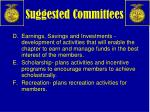 suggested committees1