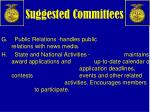 suggested committees2