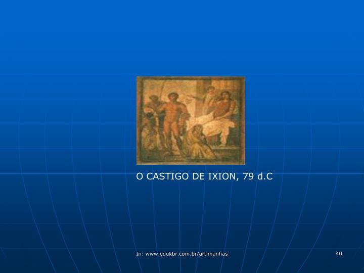 O CASTIGO DE IXION, 79 d.C