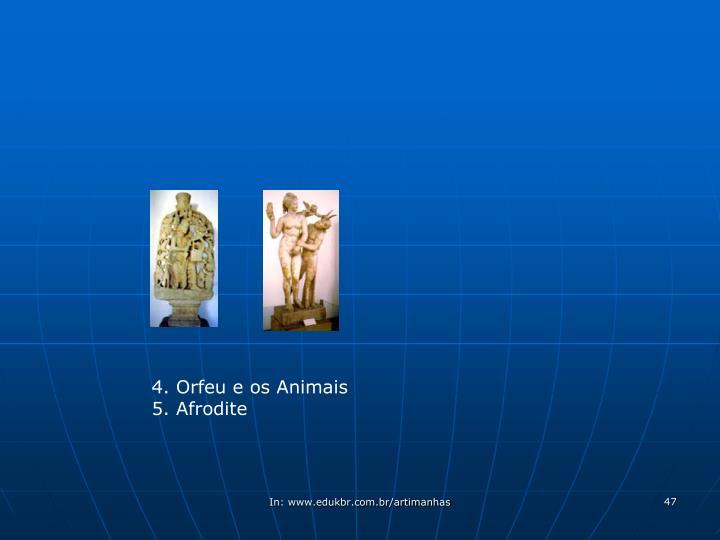 4. Orfeu e os Animais