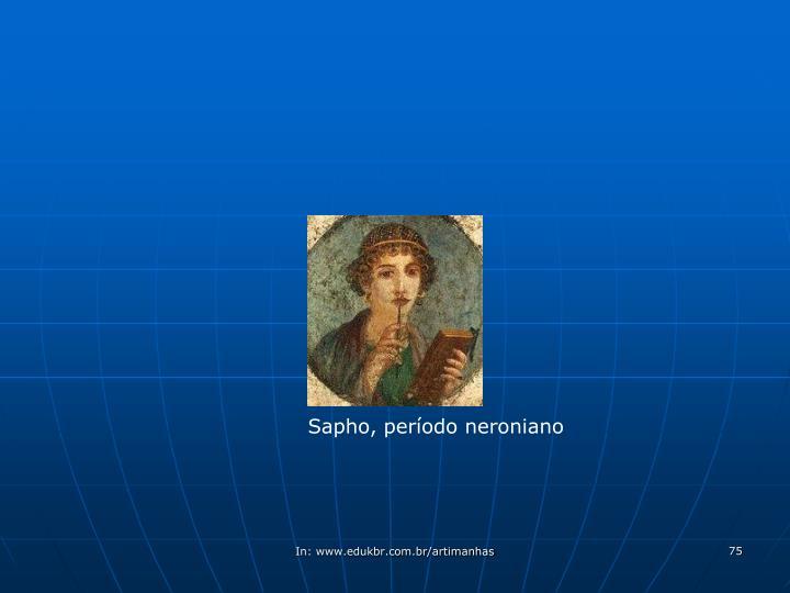 Sapho, período neroniano