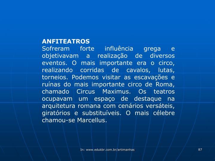 ANFITEATROS