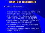 tenants by the entirety