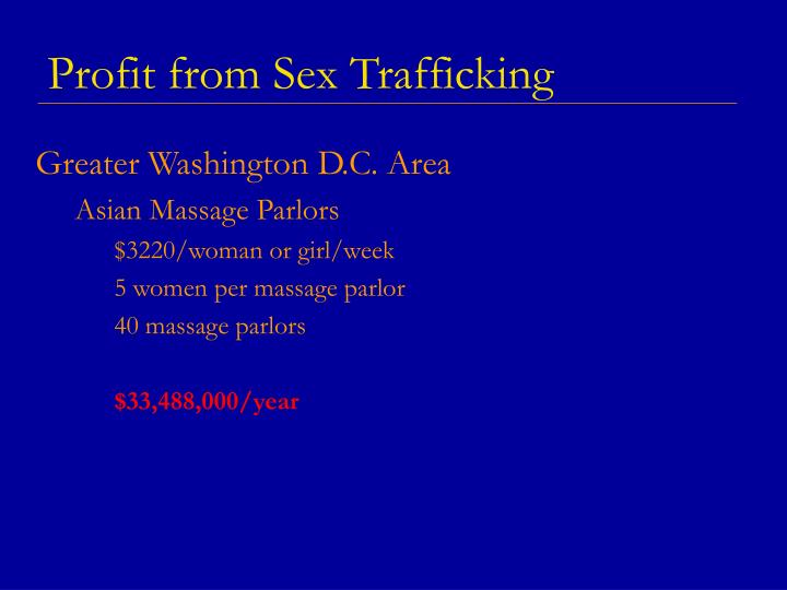 Profit from Sex Trafficking