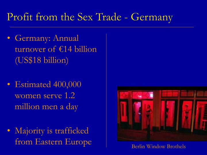 Profit from the Sex Trade - Germany