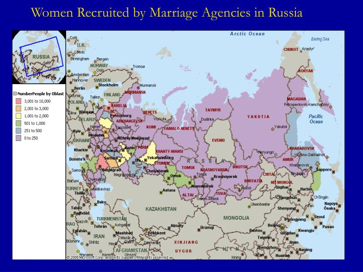 Women Recruited by Marriage Agencies in Russia