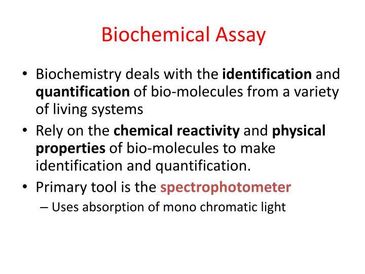 Biochemical Assay