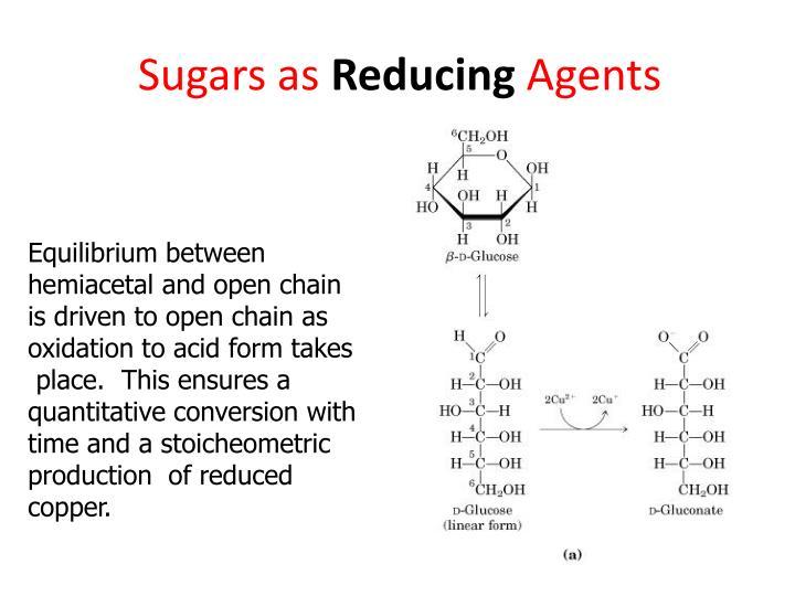 Sugars as