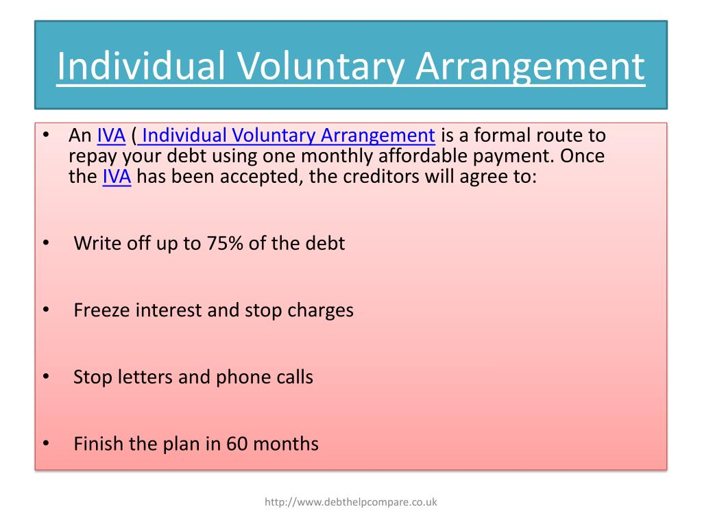 Individual Voluntary Arrangement