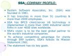 ssa company profile