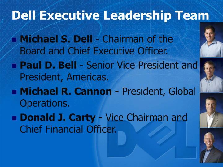 Dell Executive Leadership Team
