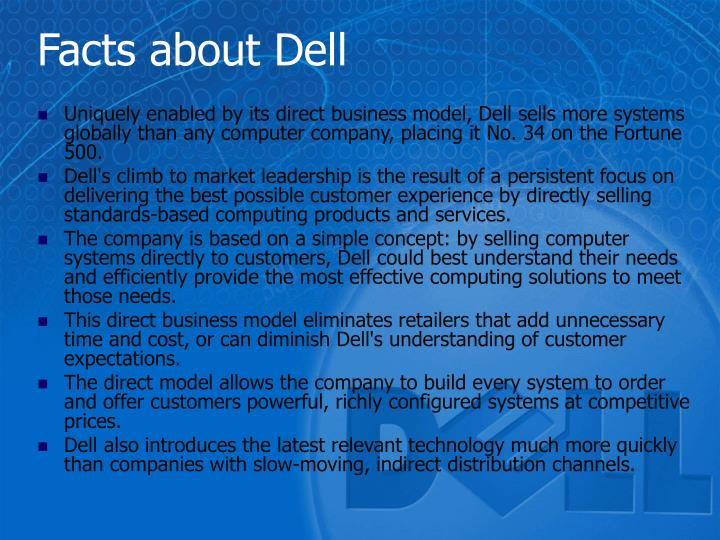 Facts about Dell