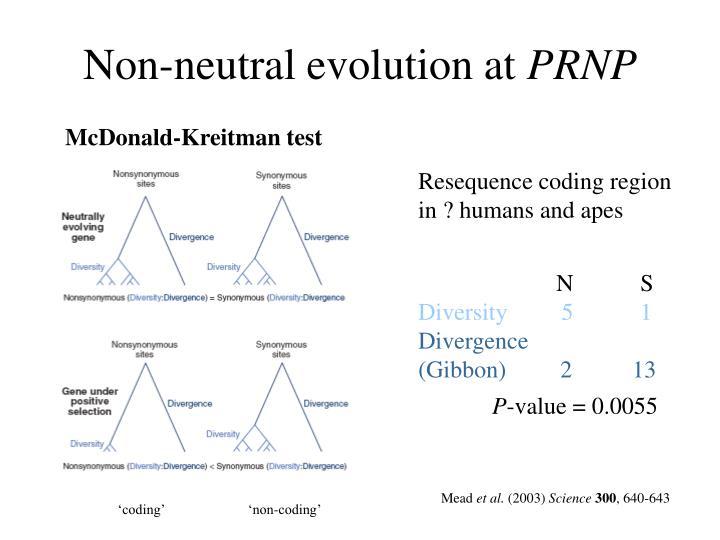 Non-neutral evolution at